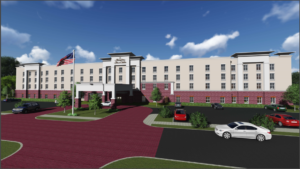 Foxboro architect hotel rendering